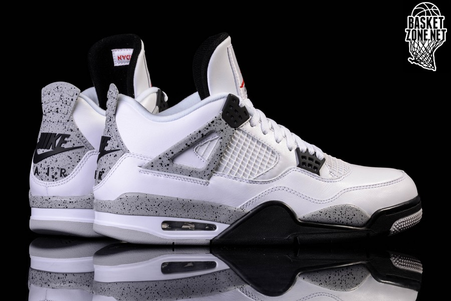 buy popular 91b7e f6ec3 NIKE AIR JORDAN 4 RETRO OG  WHITE CEMENT