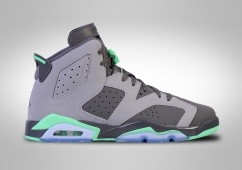 NIKE AIR JORDAN 6 RETRO GREEN GLOW GG