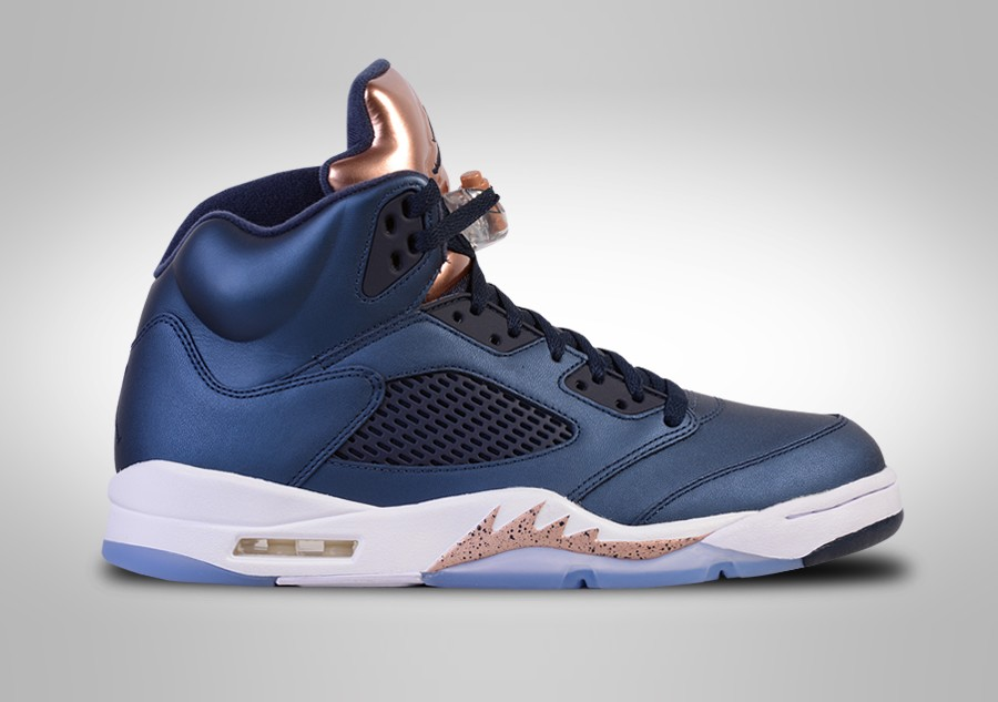 best sneakers b575b 6f821 NIKE AIR JORDAN 5 RETRO BRONZE