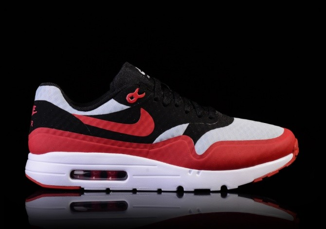 4326eacc4b NIKE AIR MAX 1 ULTRA ESSENTIAL GYM RED-BLACK-WHITE für 860,34DKK ...