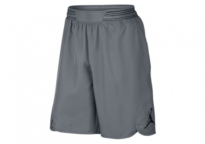 NIKE AIR JORDAN MID-FLIGHT VICTORY SHORT COOL GREY