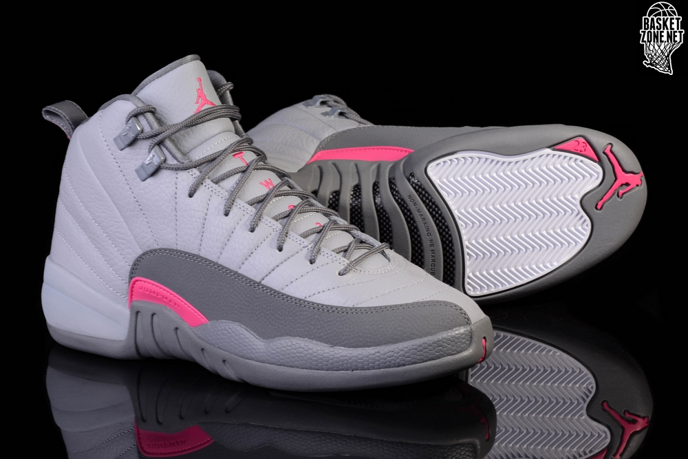 sneakers for cheap 2a706 65df9 ... release date nike air jordan 12 retro wolf grey vivid pink f9543 22b55