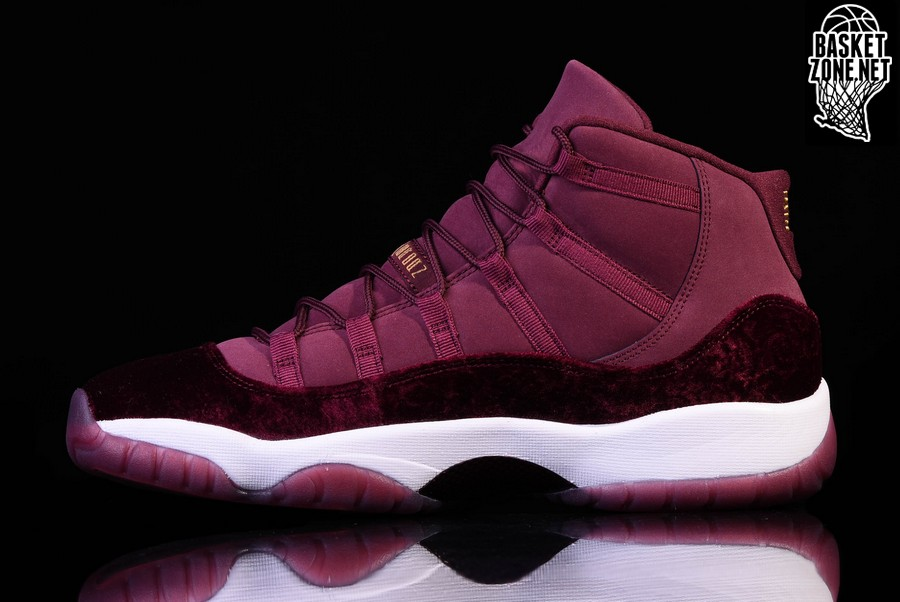 size 40 d8585 48484 ... shop top quality nike air jordan 11 retro gs night maroon velvet  heiress 2c3cd 60067 b686f