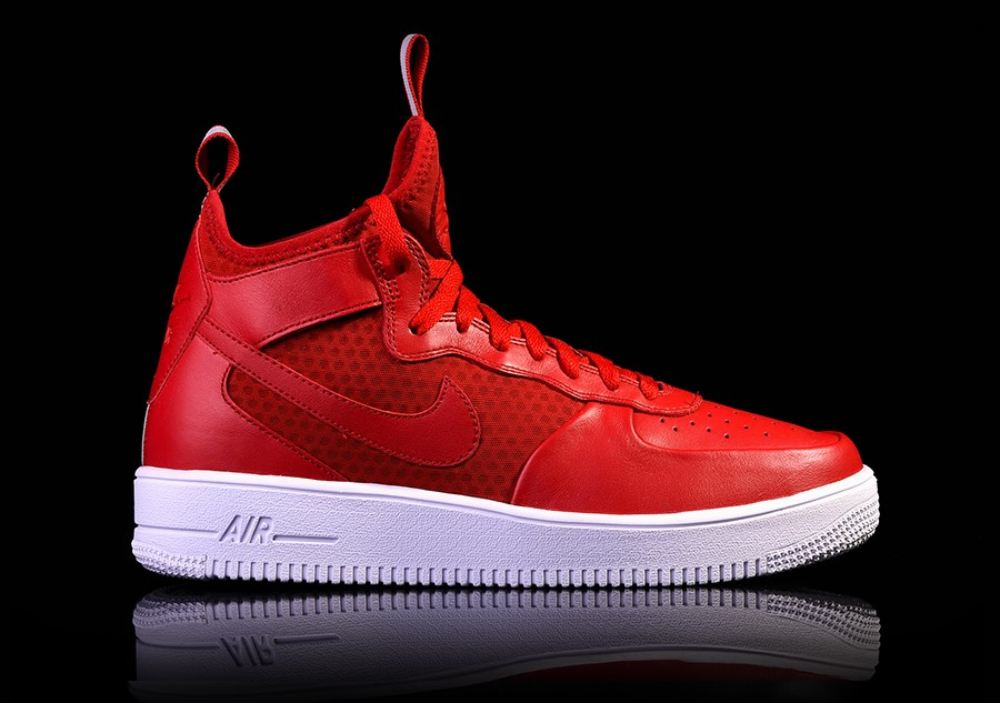 size 40 dfda9 15052 NIKE AIR FORCE 1 ULTRAFORCE MID GYM RED