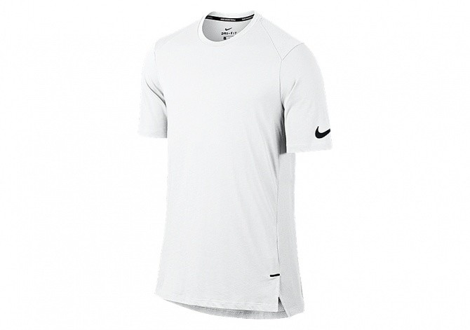 NIKE BREATHE ELITE BASKETBALL TOP WHITE