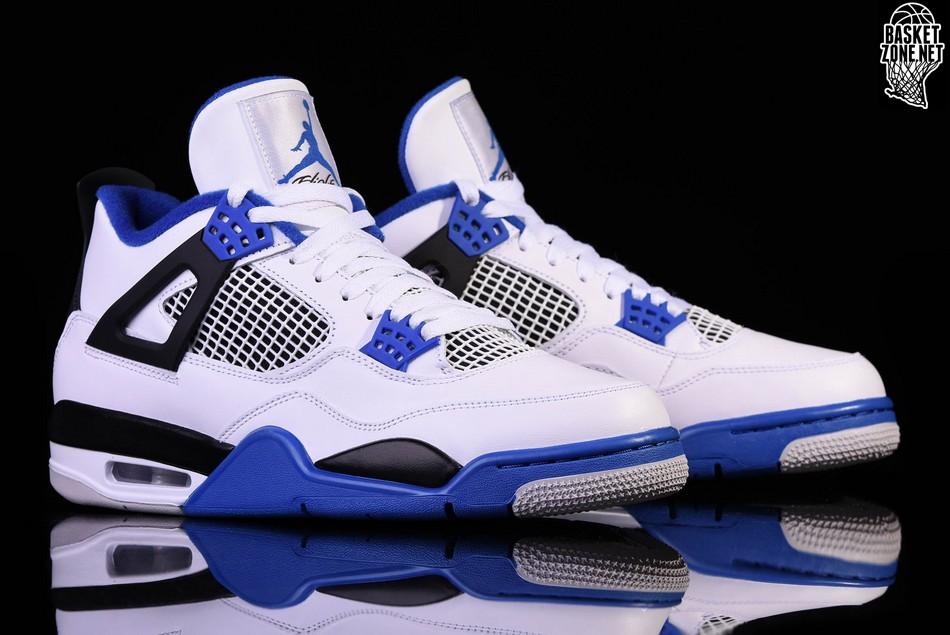 Retro Air 4 Pour 50 Bg Nike Jordan Motorsports €127 j34Lqc5ARS