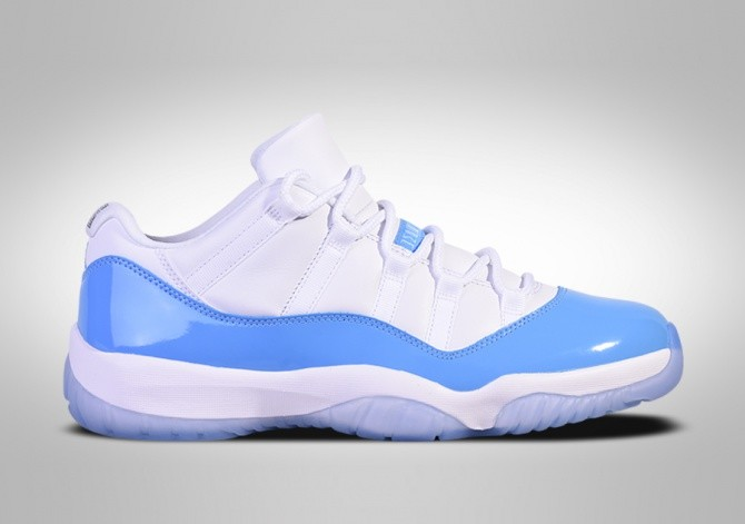f3f36ed28e4 NIKE AIR JORDAN 11 RETRO LOW UNC NORTH CAROLINA BLUE price €167.50 ...