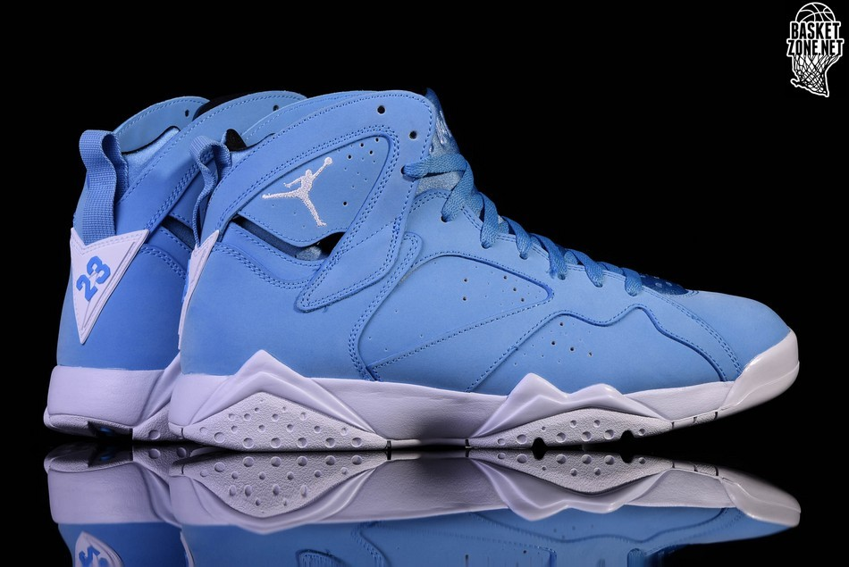 code promo 35443 73d2a NIKE AIR JORDAN 7 RETRO NORTH CAROLINA BLUE price €185.00 ...