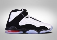 NIKE AIR PENNY IV WHITE BLACK RED