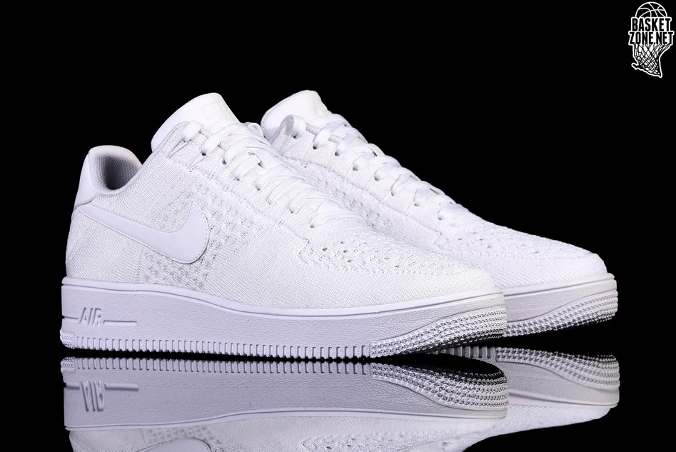 quality design 304a9 4f52d NIKE AIR FORCE 1 ULTRA FLYKNIT LOW WHITE