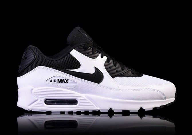 best service fe6b7 9b1b0 NIKE AIR MAX 90 ESSENTIAL BLACK WHITE