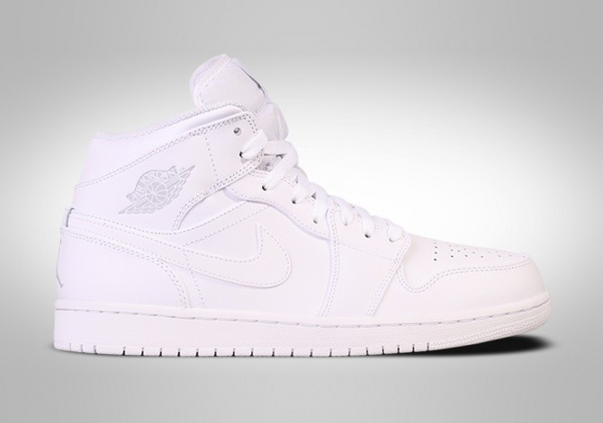 the best attitude c8c11 c980d NIKE AIR JORDAN 1 RETRO MID WHITE