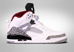 NIKE AIR JORDAN SPIZIKE WHITE CEMENT BG