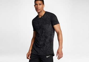 NIKE DRY HYPER ELITE BASKETBALL TOP ANTHRACITE