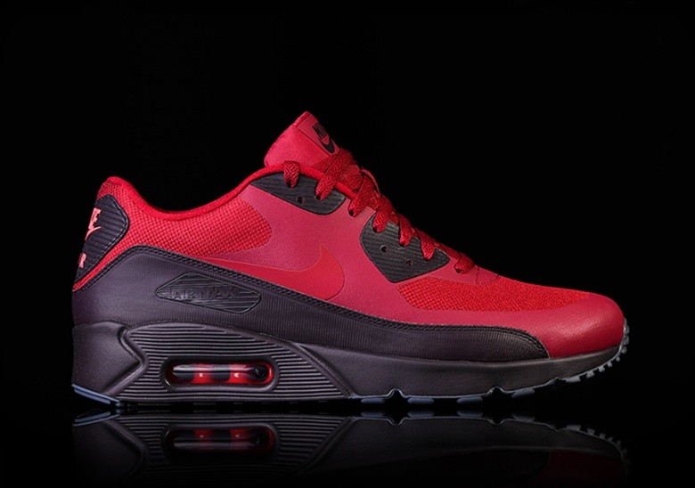 NIKE AIR MAX 90 ULTRA 2.0 ESSENTIAL NOBLE RED
