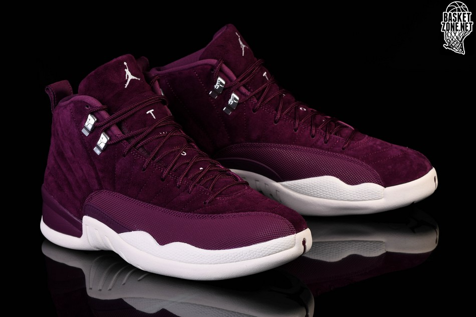pretty nice 7e366 b07f4 NIKE AIR JORDAN 12 RETRO BORDEAUX