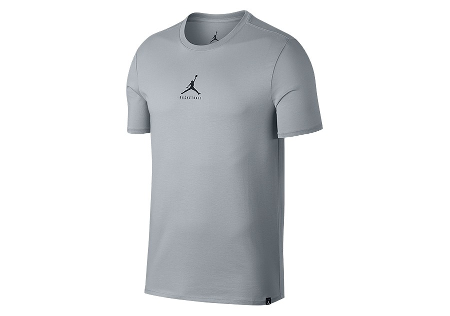 ee6c4825 NIKE AIR JORDAN DRY 23/7 JUMPMAN BASKETBALL TEE WOLF GREY price ...