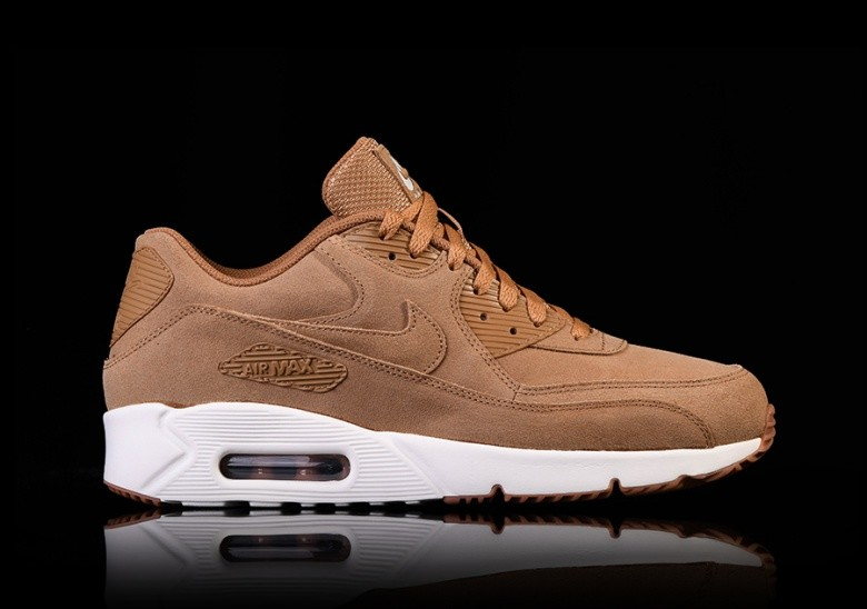 NIKE AIR MAX 90 ULTRA 2.0 LEATHER FLAX voor €115,00