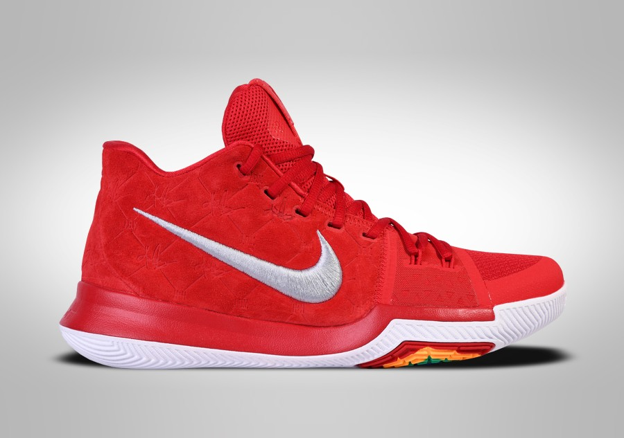 hot sale online 303ca ab7e1 NIKE KYRIE 3 RED SUEDE price €105.00 | Basketzone.net