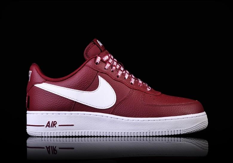 nike air force 1 nba rood