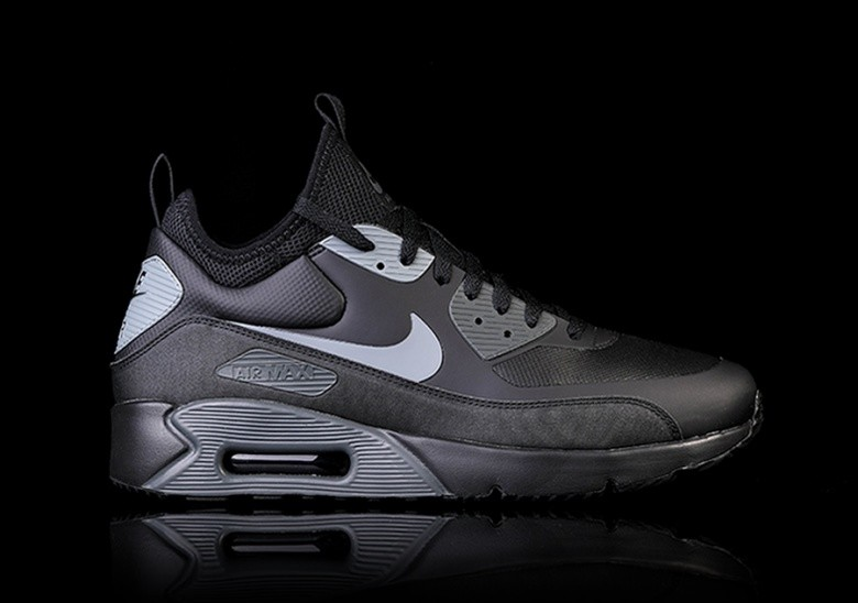 best website 83b96 fa6cb NIKE AIR MAX 90 ULTRA MID WINTER BLACK
