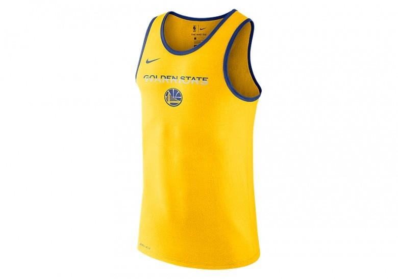 uk availability be3e1 9e193 NIKE NBA GOLDEN STATE WARRIORS DRY TANK LOGO AMARILLO