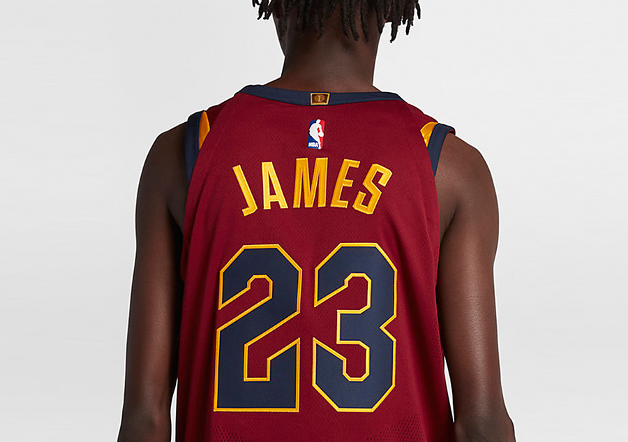 725f176821c NIKE NBA CLEVELAND CAVALIERS LEBRON JAMES AUTHENTIC JERSEY ROAD TEAM ...