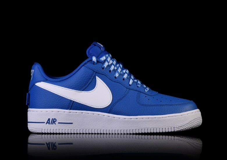 outlet store 9cba3 b814c NIKE AIR FORCE 1  07 LV8 NBA PACK GAME ROYAL