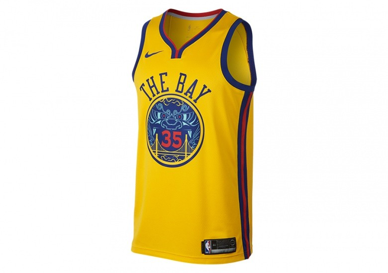3a916fe54c83 NIKE NBA KEVIN DURANT GOLDEN STATE WARRIORS CITY EDITION SWINGMAN JERSEY  AMARILLO