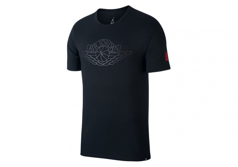 c1944ae71e1 NIKE AIR JORDAN RISE SHORT-SLEEVE BASKETBALL TEE BLACK price €32.50 ...