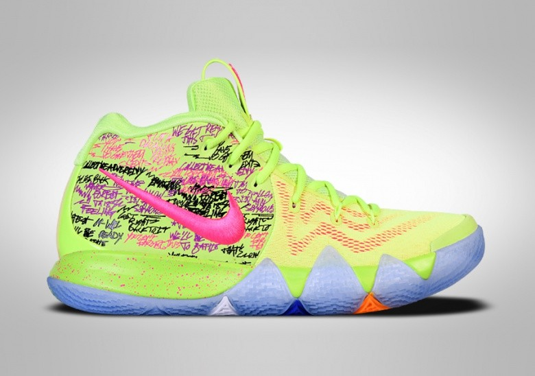 Nike €272 Kyrie 4 Pour 50 Edition Confetti Limited WD9IHE2