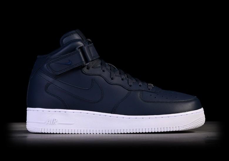 Sneakers buty Nike Air Force 1 Mid '07obsidian obsidian