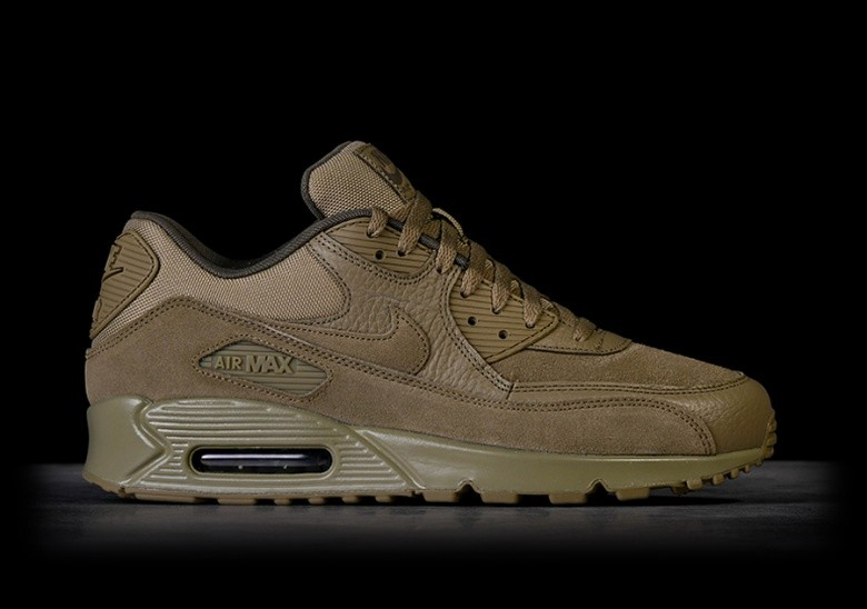 best sneakers 06ba5 b73d5 NIKE AIR MAX 90 PREMIUM NEUTRAL OLIVE