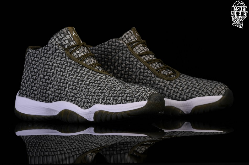 new styles ee361 bfaba NIKE AIR JORDAN FUTURE DARK GREEN