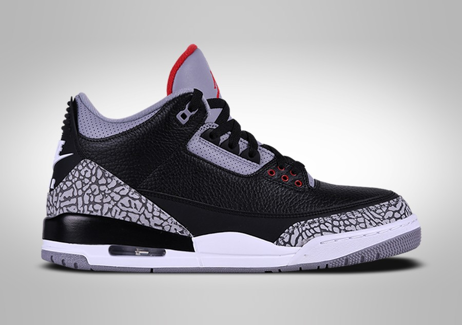 huge selection of 59d06 24ccd NIKE AIR JORDAN 3 RETRO BLACK CEMENT. 854262-001