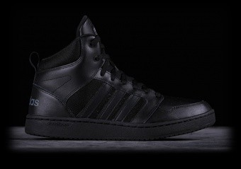 ADIDAS CLOUDFOAM SUPER HOOPS MID BLACK