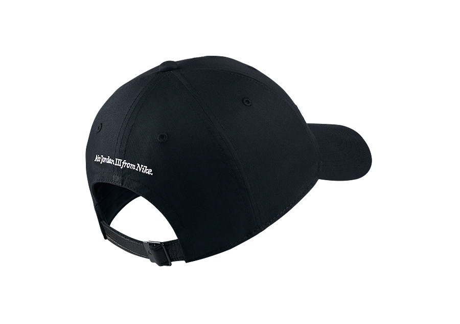 e1fcbe15224 NIKE AIR JORDAN HERITAGE86 'DO YOU KNOW?' HAT BLACK price €27.50 ...