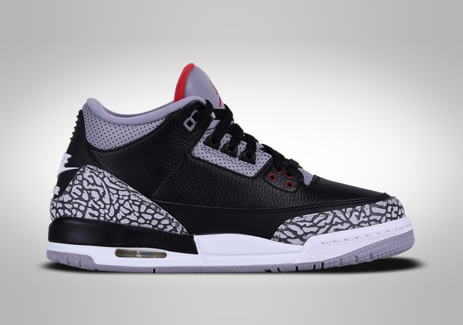 brand new 26abc 392ba NIKE AIR JORDAN 3 RETRO BLACK CEMENT BG