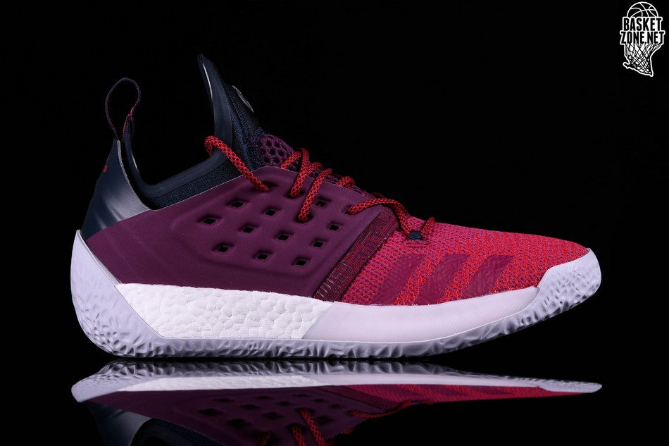 wholesale dealer c1092 fd0a6 ADIDAS HARDEN VOL. 2 MAROON