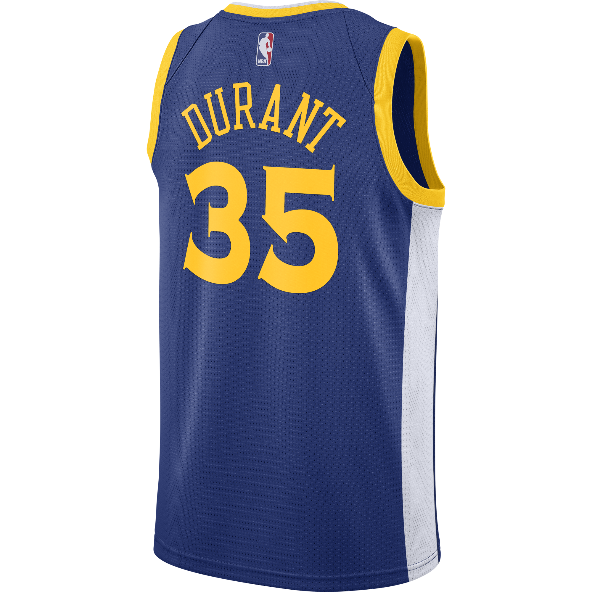 407026cff38 NIKE NBA GOLDEN STATE WARRIORS KEVIN DURANT SWINGMAN JERSEY ROAD. Previous  Next