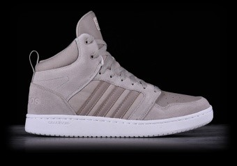 ADIDAS CLOUDFOAM SUPER HOOPS MID LIGHT BROWN