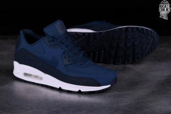 Nike Air Max 90 Essential 537384 427   Granatowy