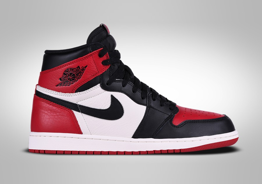 NIKE AIR JORDAN 1 RETRO HIGH OG BRED TOE price €302.50 ...