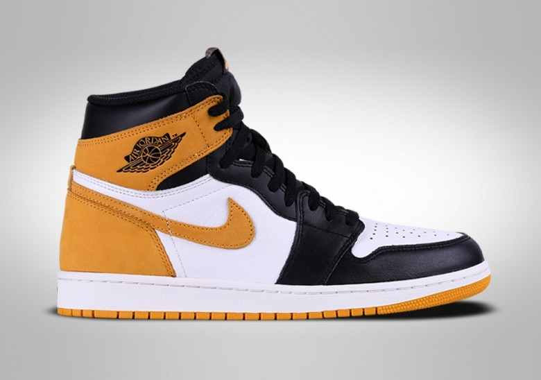 NIKE AIR JORDAN 1 RETRO HIGH OG YELLOW OCHRE