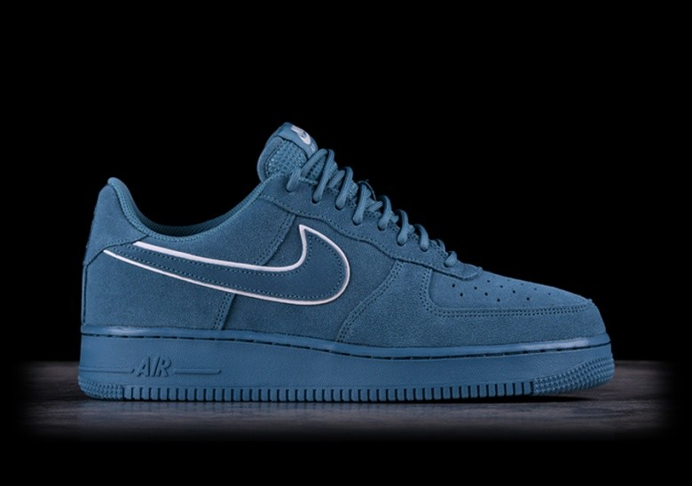 NIKE AIR FORCE 1 '07 LV8 SUEDE NOISE AQUA