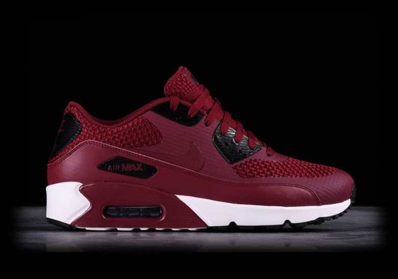 Nike Air Max 90 Ultra Essential Team Red Grey Trainers