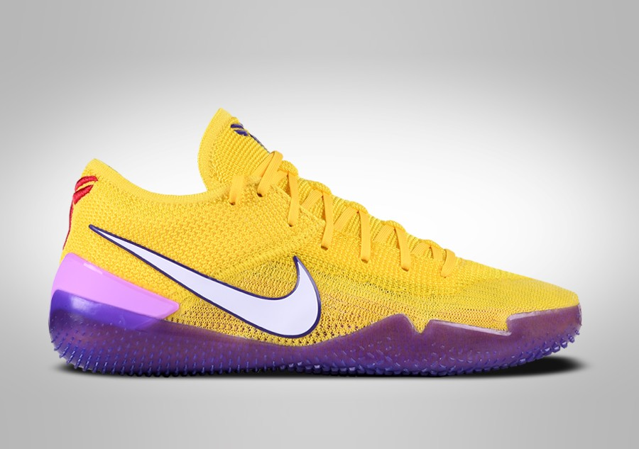 new styles c254f 7b734 ... promo code for nike kobe ad nxt 360 lakers pour 18500 basketzone 35600  ea2b5