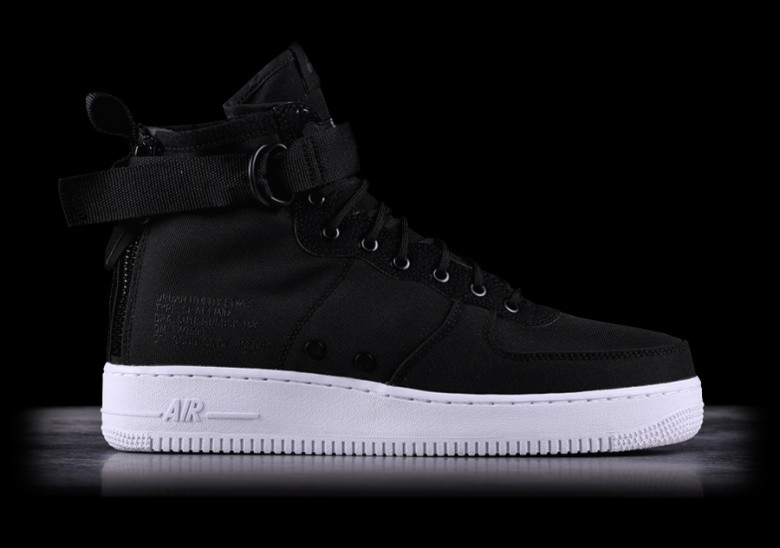 NIKE SF AIR FORCE 1 MID BLACK