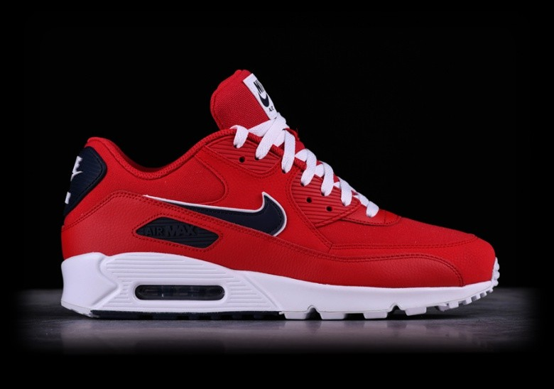 factory price 5d3ee 6f12d NIKE AIR MAX 90 ESSENTIAL UNIVERSITY RED