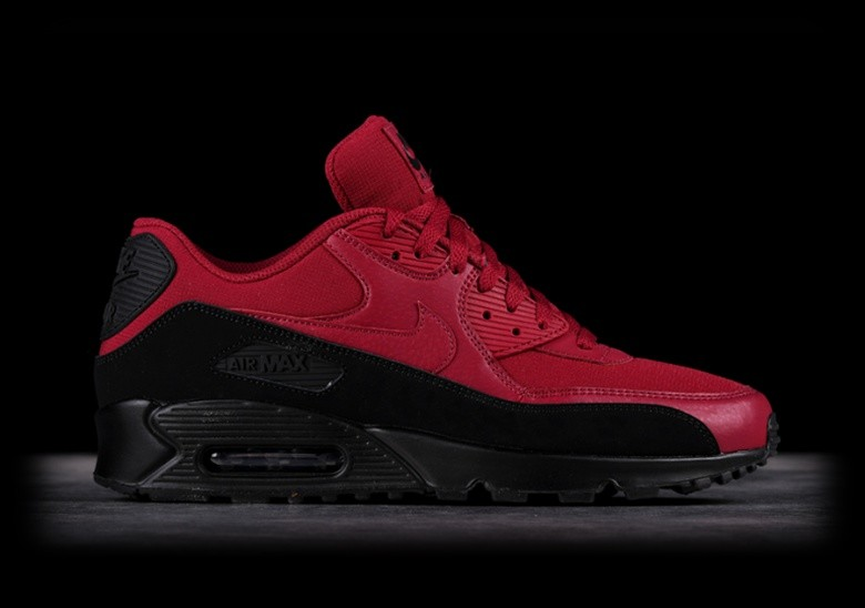 new styles d8716 d1d86 ireland nike air max 90 essential black red 66360 bb1a6